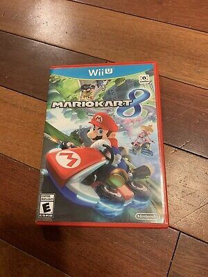 Mario Kart 8 Nintendo Wii U Game With Wheel