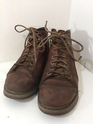 CAT Caterpillar Walking Machines Womens Boots Size 9 Brown Cat Walking Boots