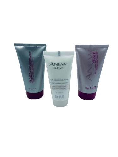 Avon Anew Lot Of 3 Vitale Reversalist Clean Face Cleanser NEW - $18.00