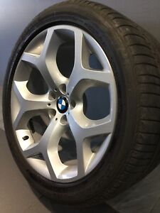 """BMW X5 20"""" STAGGERED GENUINE ALLOY WHEELS AND TYRES Carramar Fairfield Area Preview"""