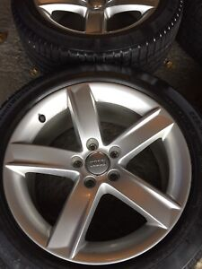 Immaculate Audi Wheels and snow tires