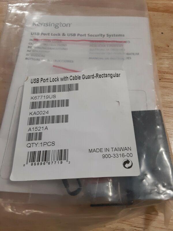 Kensington USB Port Lock Rectangle  K67719US Replacement