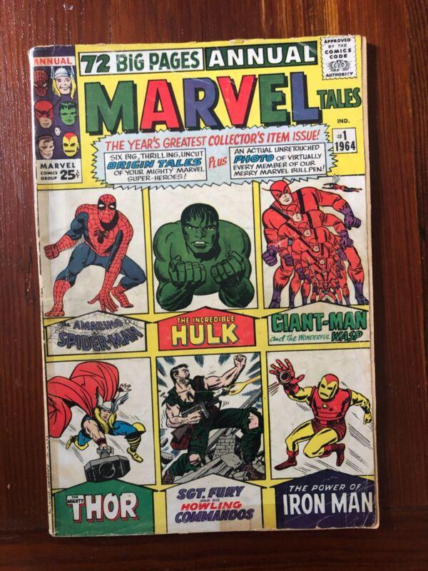 MARVEL TALES ANNUAL 1964 #1
