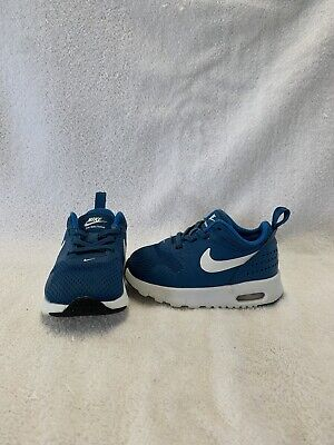 Nike Air Max Tavas Infant/Toddler Boys Blue/white Shoes--size 5 C