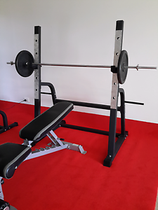 CAGE SQUAT/Bench Press (BENCH NOT INCLUDED) Samsonvale Pine Rivers Area Preview