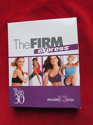The Firm Express Get Thin In 30 13 DVD Set Gaiam
