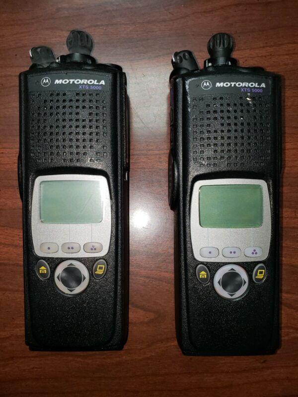 Motorola Solutions NNTN6466C Front Housing for XTS5000 2-Way Radio USED