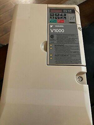 Yaskawa V1000 Cmr-vu2a0030faa Drive 200-240v 30a Output Rev D Used Working