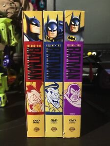Batman animated series vol. 1,2 & 3