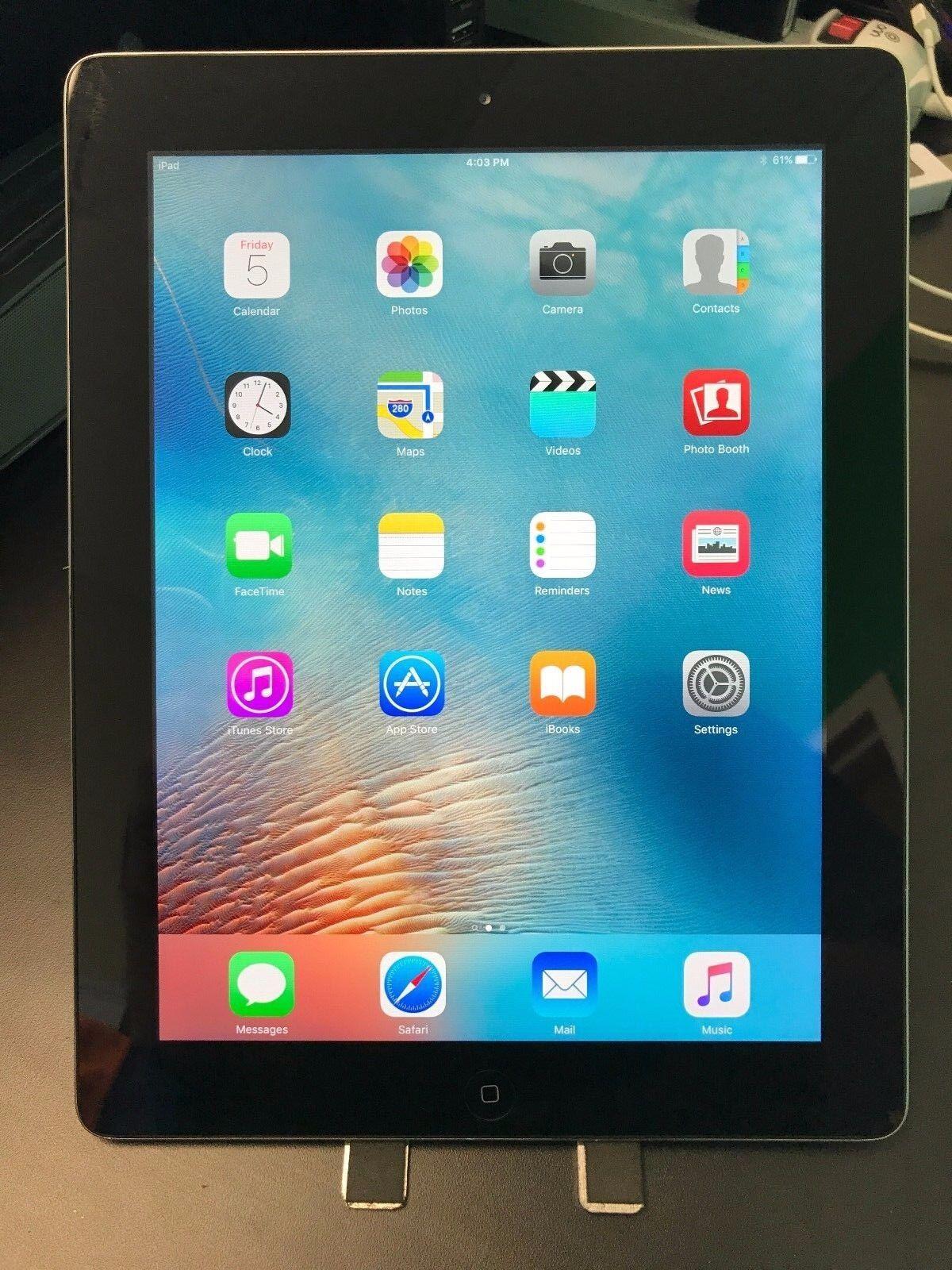 Apple iPad 4 - Certified Refurbished (Lot of 10) (Black, 16GB, Wifi)