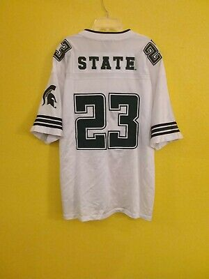 MICHIGAN STATE SPARTANS VINTAGE FOOTBALL COLOSSEUM JERSEY MENS - L