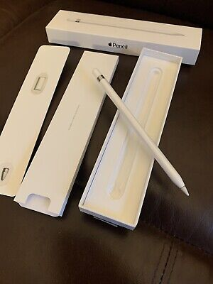 Apple MK0C2AM/A Pencil for iPad Pro Very Good Condition In Box With Accessories