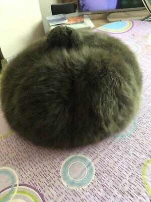 Green Faux Fur Hat By Kangol
