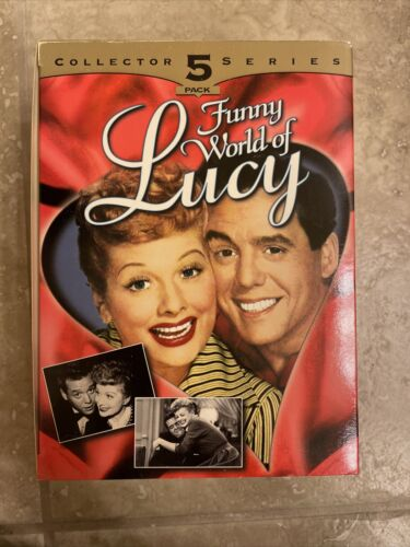 FUNNY WORLD OF LUCY 1997 COLLECTOR SERIES 5PK. VHS  - $3.60