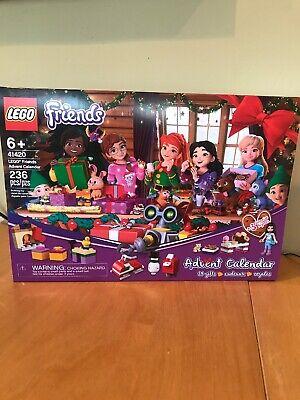 Lego Friends Advent Calendar (41420) 24 Gifts! Factory sealed!