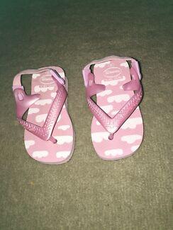 733184d2d8b6ff Baby Girl Pink Cloud Havaianas Size 20