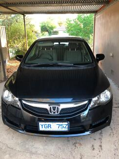 2008 Honda Civic Sedan Canberra City North Canberra Preview
