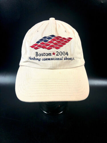 Boston 2004 Democratic Convention Hat Cap DNC ~ Adjustable Politics Cotton
