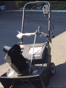 Electrocal snow blower