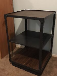 2 Starbucks Product Shelving Units