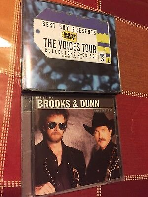 BROOKS & DUNN Best Of Collections + The Voices Tour 2 CD SET (Made In