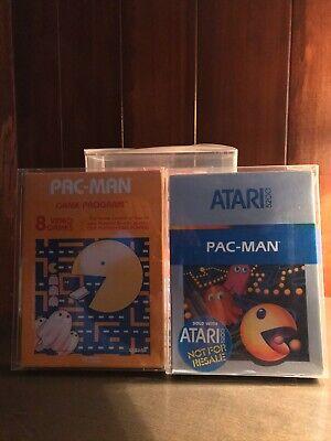PAC-MAN, (1981, Original Orange) & (1982, Blue Label), Both are Atari 2600/5200