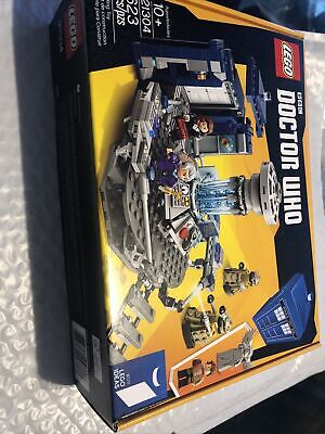 LEGO Ideas Doctor Who (21304) Brand New Factory Sealed Box Shelf Wear