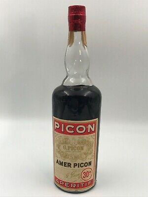 AMER PICON APERITIF LICOR FRANCES 30º ORIGINAL 1L. AÑOS 60 G. PICON