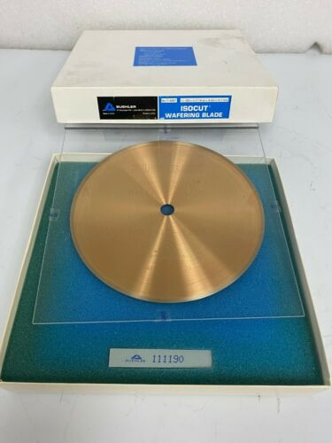 """NEW BUEHLER IsoMet 7"""" x 0.025, 11-4267 High Concentration Diamond Wafering Blade"""