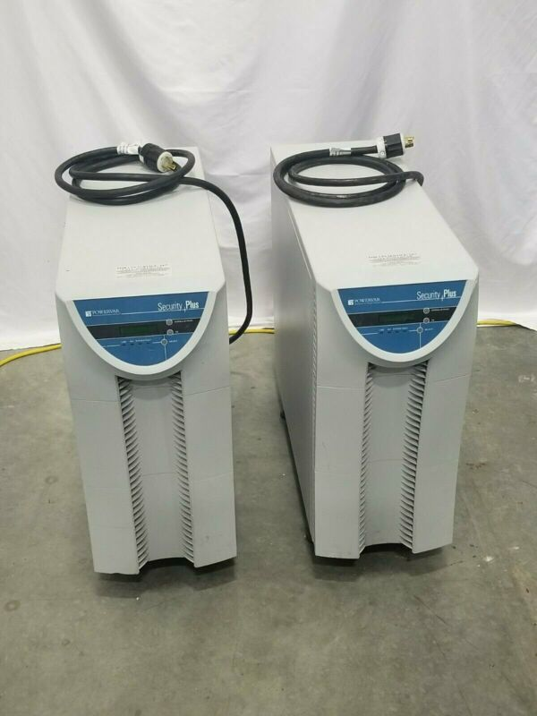 Powervar Security Plus UPS, Model ABCDEF5200-22 | P/N: 22052-51R -LOT OF 2x!