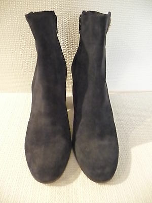 New J Crew Barrett Suede Ankle Boots Highland  Navy Sz 7 A9825  258