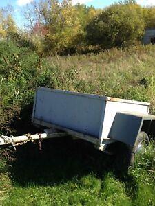 Little utility trailer