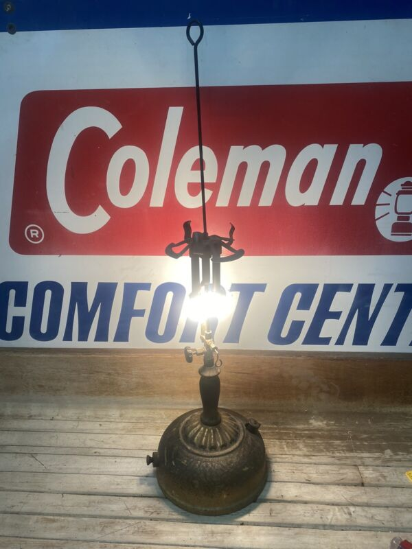 Coleman Lantern Co. – Gas Lamp Model 118A Later Version 1930-1933 Tested Works