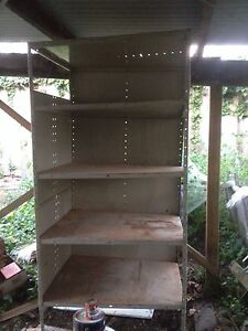 Free metal shelves for shed New Town Hobart City Preview