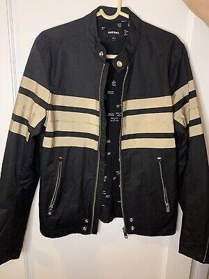 Diesel Bomber Black/Gold Jacket sz. L