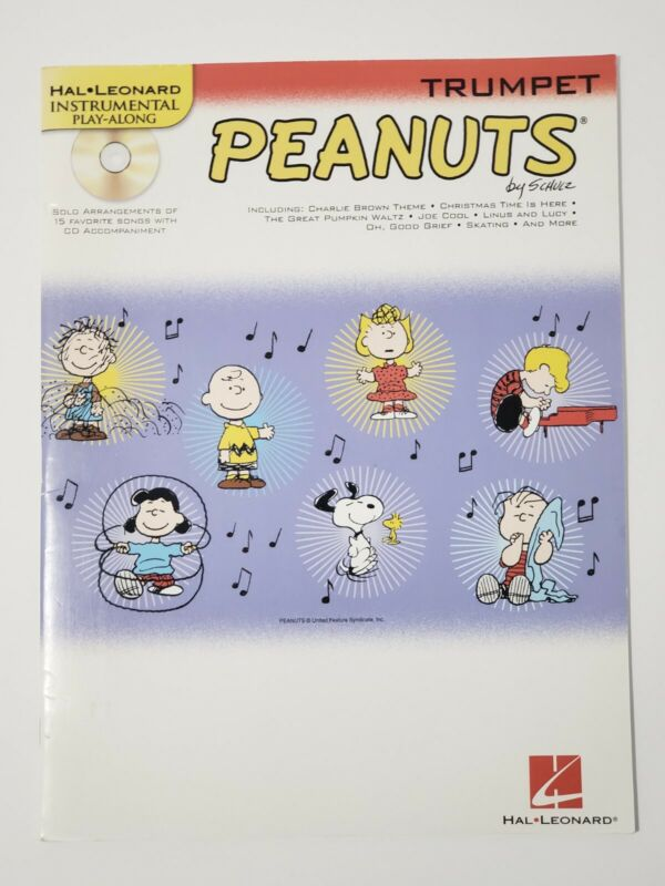 Peanuts for Trumpet Instrumental Play-Along Book and Audio CD Charlie Brown