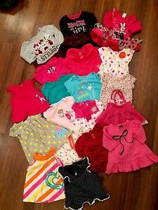 Girls clothing lot sizes 3-12 months