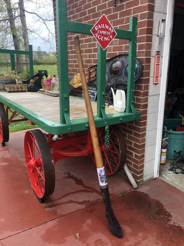 Rail Car Mover Railroad Dock Hand Tool From Four Roses Bourbon Distillery  ICRR