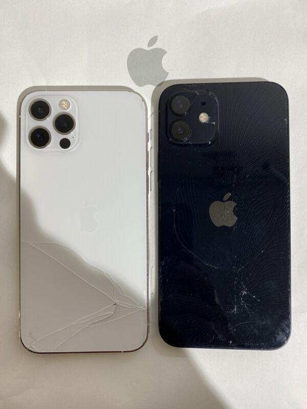 iPhone12 Mini/12/ 12Pro/12 Max Cracked Back Glass Broken Cover Repair Service