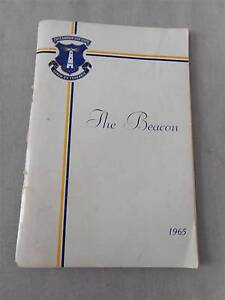 Vintage yearbook Coffs Harbour High School Beacon 1965 students Carindale Brisbane South East Preview