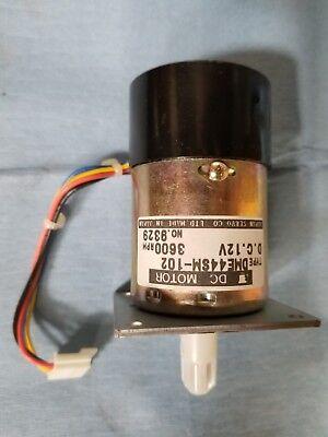 Japan Servo Dc Motor Dme44sm-102 D.c.12v 3600rmin