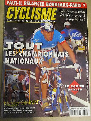 CYCLISME INTERNATIONAL : N°125 : JUIN 1996 + POSTER LANCE ARMSTRONG