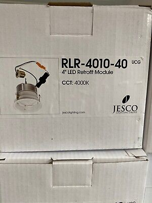 "Brand New Jesco Lighting RLR-4010-40 4"" LED Retrofit Module Light Engine Recess"