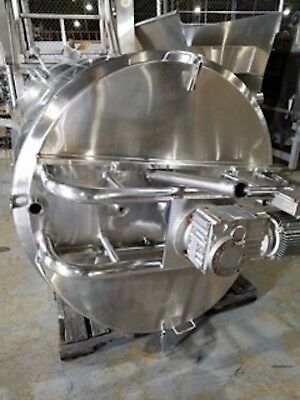 Paul Mueller 600 Gallon Stainless Steel Jacketed Triple Agitated Tank