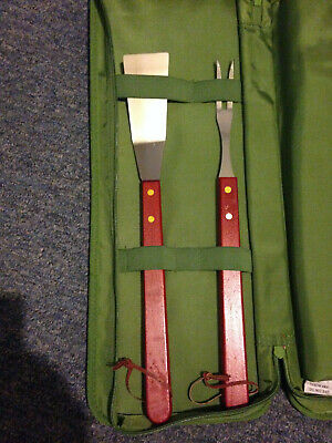 4 Large Grilling Cooking Utensils with Holder