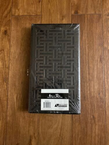 Accord Ventilation AMFRRBB612 Wicker Design Floor Register,