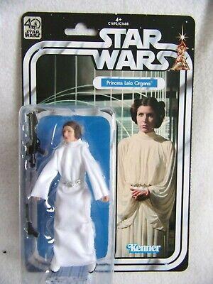 "Star Wars Black Series 40th Anniversary Princess Leia Organa Figure 6"" Kenner"
