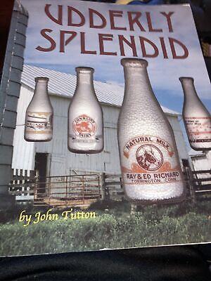 Udderly Splendid  Milk Bottle ID Book Cream +