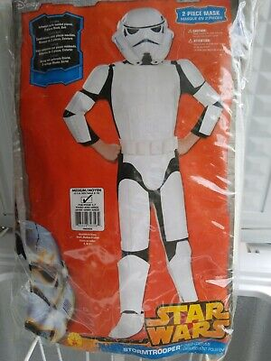 Stormtrooper Costume Sale ( TROOPER STAR WARS Halloween child Costume Rubies Sz M 70 % off.   final)