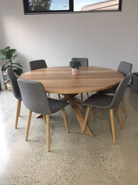 Custom Round Dining Table Dining Tables Gumtree Australia
